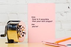 How is it possible you're still single notebook