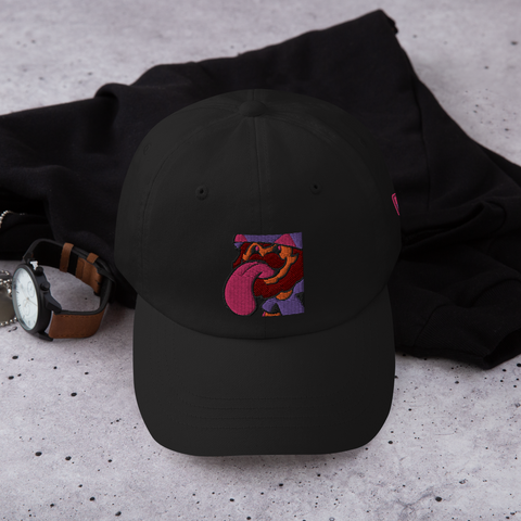 Gonzo Lickee Dad Hat [Black Hat]