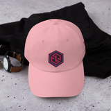 GorillaGang Infinity Dad Hat [Pink Hat]