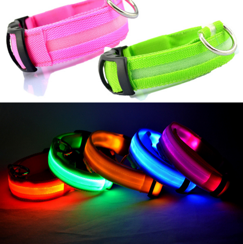 LED Light Up Flashing Collar - Omnia