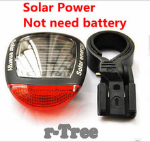 Solar Power LED Rear Blike Light - Omnia