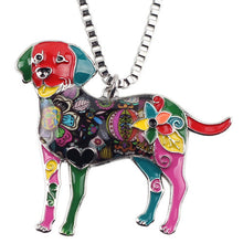 Bonsny Labrador Necklace - Omnia