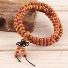 Natural Sandalwood Buddha Meditation Bracelet Offer - Omnia