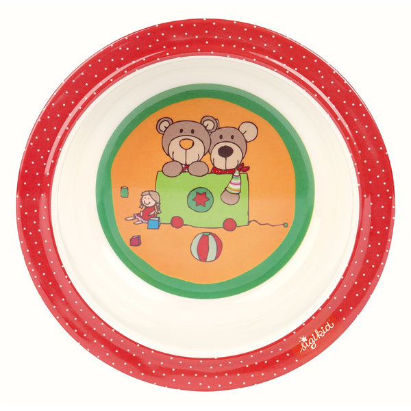 sigikid Bowl Wild & Berry Bear