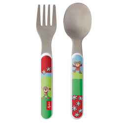 sigikid Cuttlery Set Wild & Berry Bear
