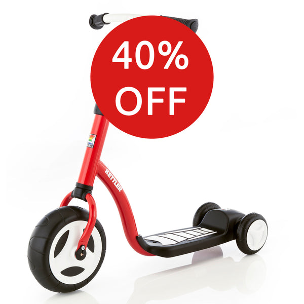KETTLER Kids Scooter - red / white
