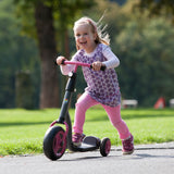 KETTLER Kid's Scooter - black / pink