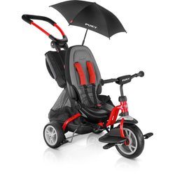 PUKY Ceety CAT S6 Stroller / Tricycle - red | German Toy Store