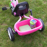PUKY CAT 1S Tricycle - pink / green - bucket