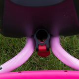 PUKY CAT 1S Tricycle - pink / green - pushpole lock