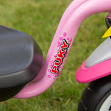 PUKY CAT 1S Tricycle - pink / green - signage
