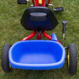 PUKY CAT 1S Tricycle - red - bucket