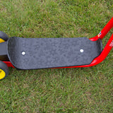 PUKY R1 Scooter - red - standing board