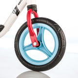 "KETTLER Balance Bike Run 10"" - white / red - front wheel"