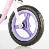 "KETTLER Balance Bike Run 10"" - pink / white - front wheel"