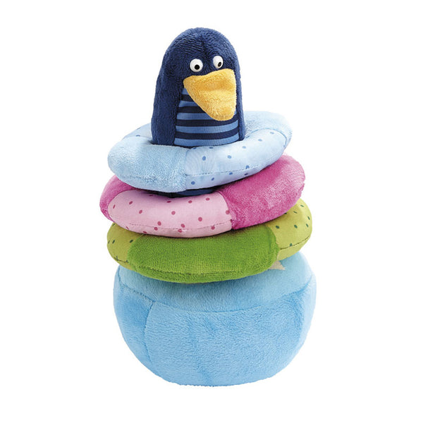 sigikid Stacking Penguin Tumbler | Educational Toy | German Toy Store
