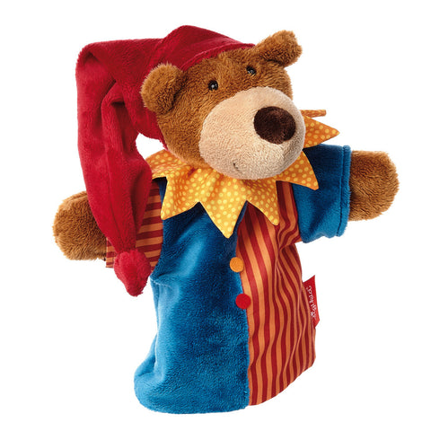 sigikid Punch Bear Hand Puppet | Plush Toys | German Toy Store