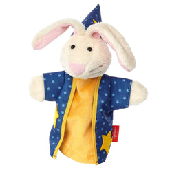 sigikid Magician Bunny Hand Puppet | Plush Toys | German Toy Store