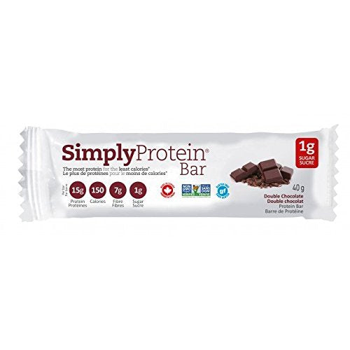 Simply Protein Double Chocolate Bar, 15 pack - Sauté