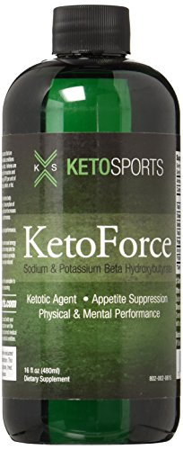 KetoSports KetoForce Dietary Supplement, 16 Fluid Ounce - Sauté