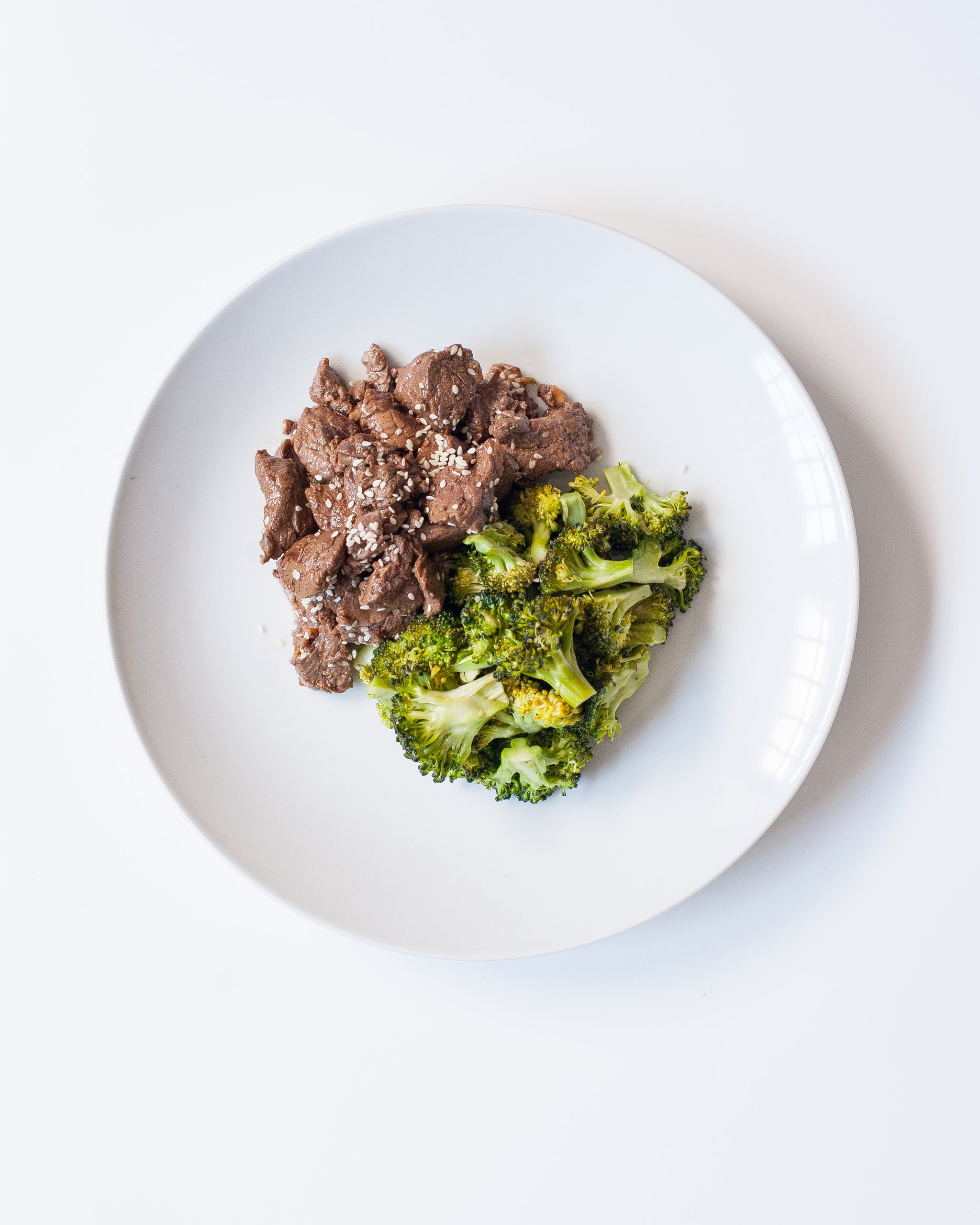 Paleo Beef and Broccoli Teriyaki (P) - Sauté