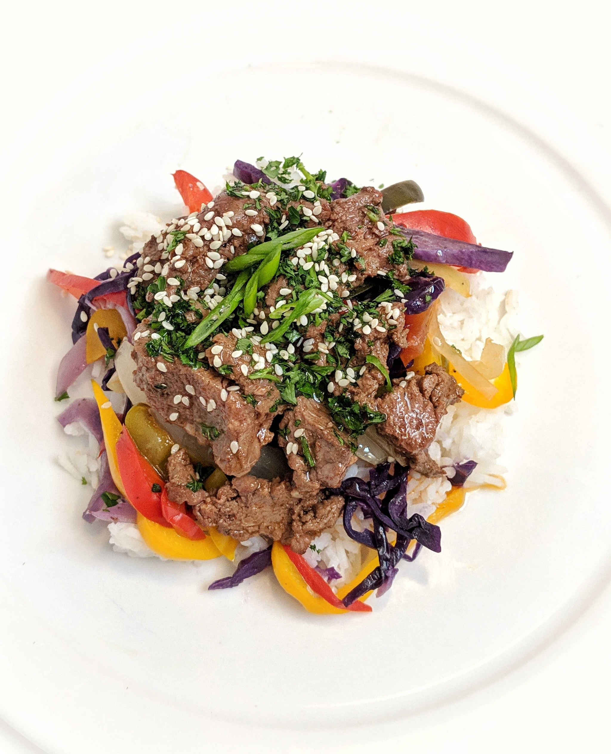 Stir-Fry Beef and Vegetable Teriyaki (Wholesale) - Sauté