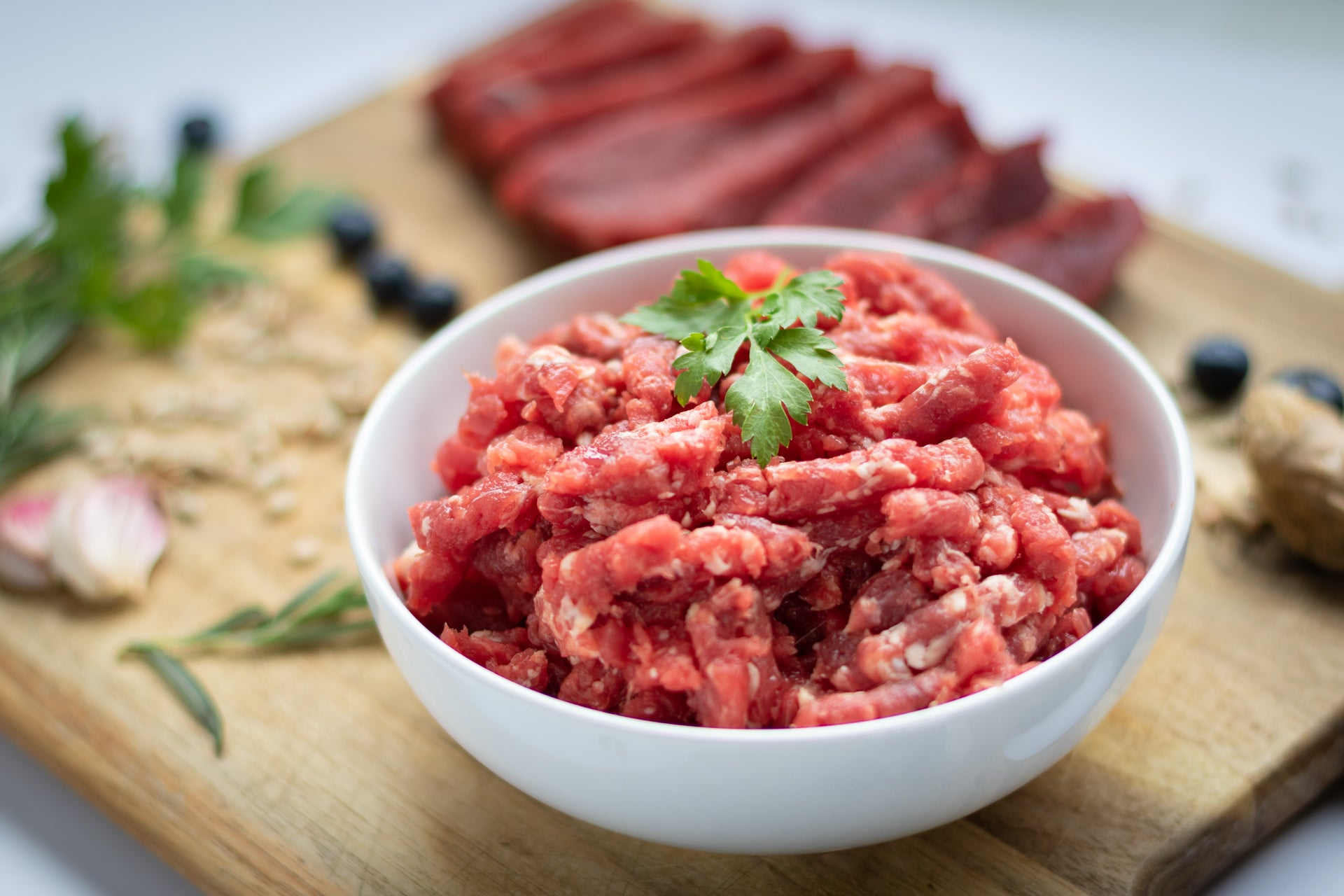Raw Dog Food - Protein + Vegetables