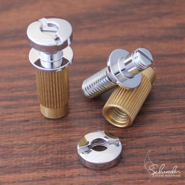 Schroeder Top-Adjustable Locking Studs Chrome