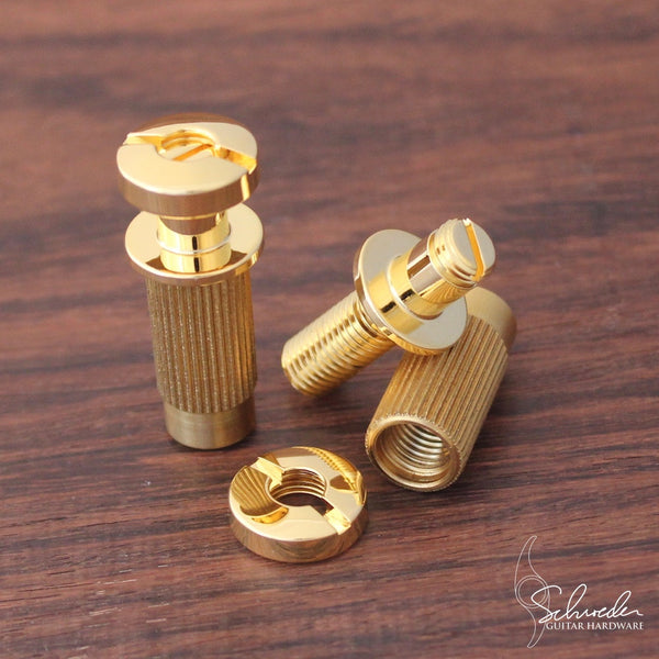 Schroeder Top-Adjustable Locking Studs Gold
