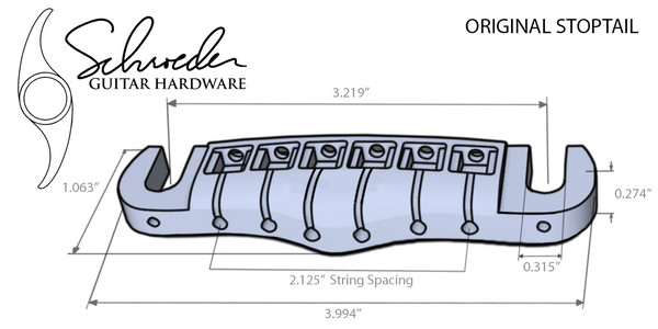 Schroeder Original Stoptail Bridge