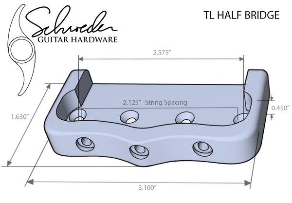 Schroeder TL Top Load Half-Bridge