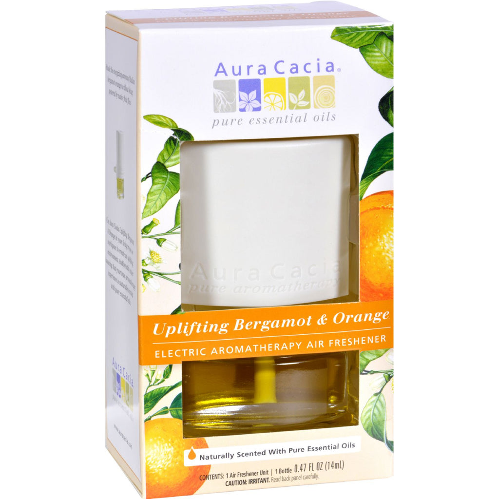 Aura Cacia Electric Air Freshener - Bergmont - 3 Pack
