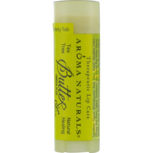 ICED GREEN TEA AROMATHERAPY by  TEA TREE OIL NATURAL HEALING THERAPEUTIC LIP BALM .15 OZ