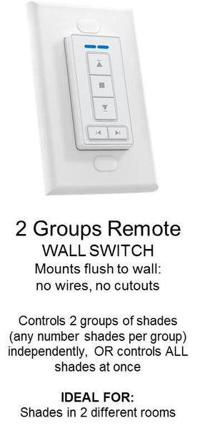 2 group Wall Switch
