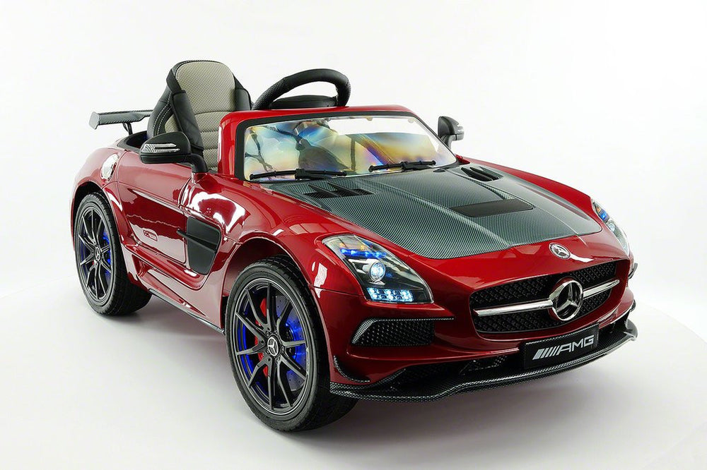 2018 Mercedes Sls Amg 12v Ride On Car With Parental Remote Wheels
