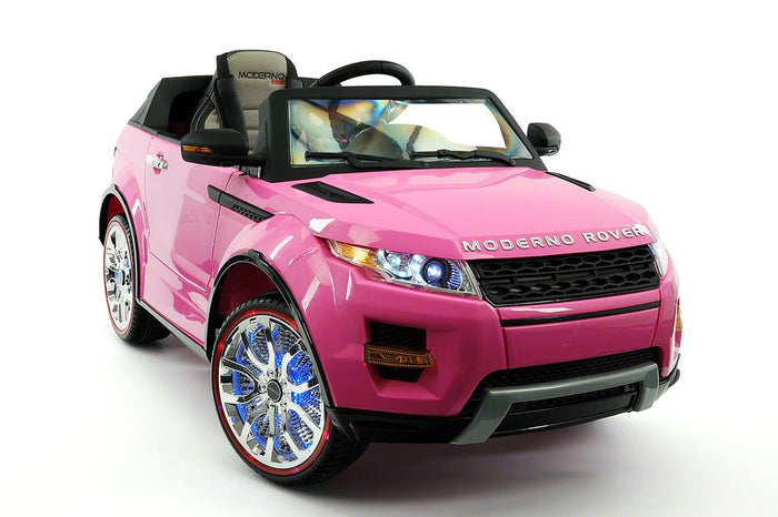 2018 ROVER 12V KIDS RIDE-ON CAR TOY RC REMOTE PINK