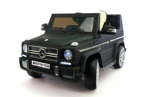 2017 Mercedes G65 Kids Ride-On Car MP3 Player 12V Battery Powered Wheels Parental R/C | MATT BLACK