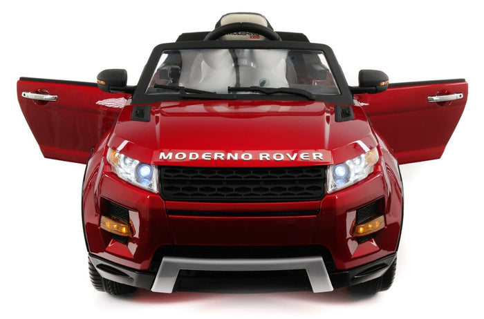 2018 ROVER 12V KIDS RIDE-ON CAR TOY RC REMOTE CHERRY RED