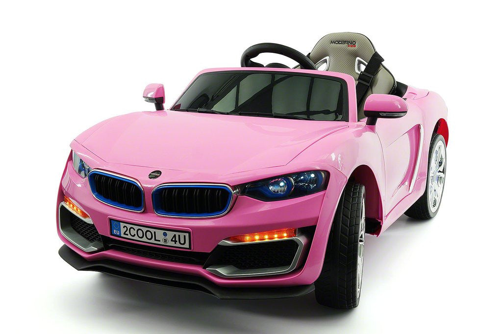 2017 Bmw Racer Style Kids Electric Ride On Car 12v Power Leather