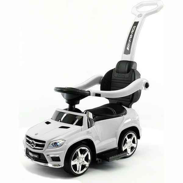2019 LICENCED MERCEDES GLE63 PUSH KIDS RIDE-ON CAR TOYS TRUCK FOR KIDS TODDLERS WITH ROCKING CHAIR OPTION | WHITE
