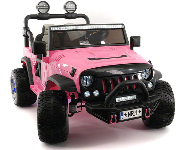 2019 EXPLORER  TWO SEATER KIDS ELECTRIC RIDE-ON TRUCK |  PINK