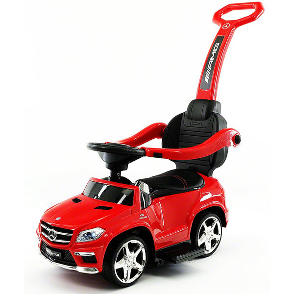 LICENCED MERCEDES GLE63 PUSH KIDS RIDE-ON CAR TOYS TRUCK FOR KIDS TODDLERS WITH ROCKING CHAIR OPTION | RED