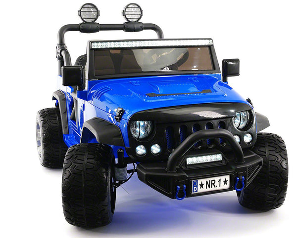 2019 EXPLORER  TWO SEATER KIDS ELECTRIC RIDE-ON TRUCK |  BLUE