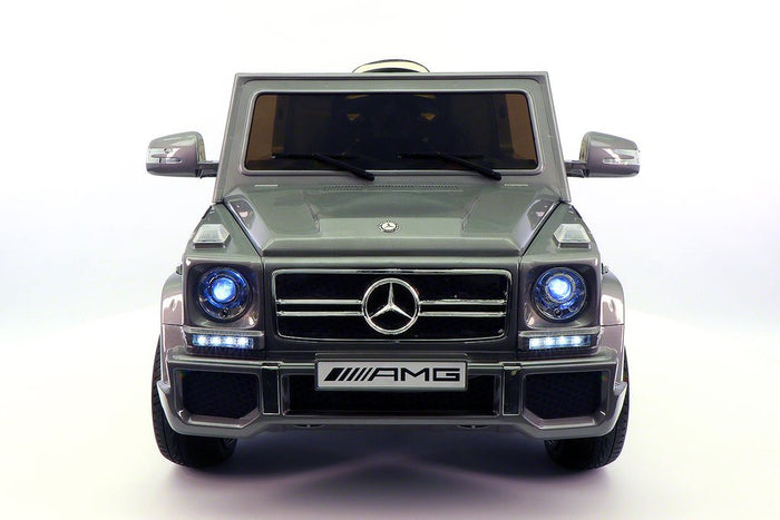 2018 MERCEDES G65 AMG 12V RIDE-ON CAR WITH PARENTAL REMOTE GREY METALLIC