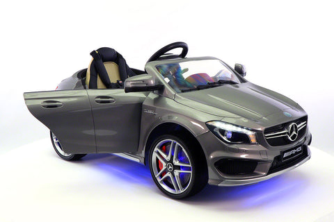 2017 Mercedes CLA45 Kids 12V Electric Ride-On Car Toy MP3 USB Player LED Body Kit RC | Metallic Grey