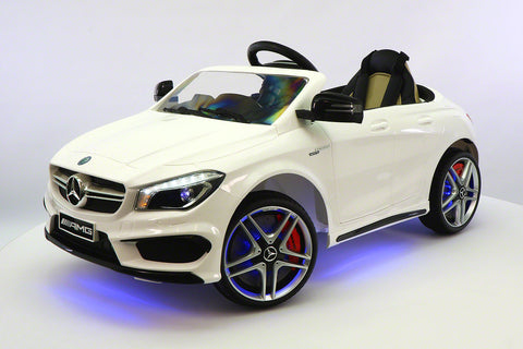 2017 Mercedes CLA45 Kids 12V Electric Ride-On Car Toy MP3 USB Player LED Body Kit RC | White