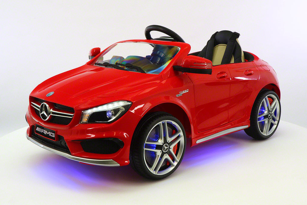 2017 Mercedes CLA45 Kids 12V Electric Ride-On Car Toy MP3 USB Player LED Body Kit RC | Red