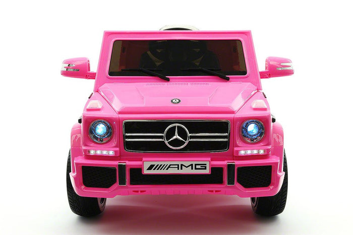 2018 Mercedes RIDE ON CAR TOY G65 AMG PINK