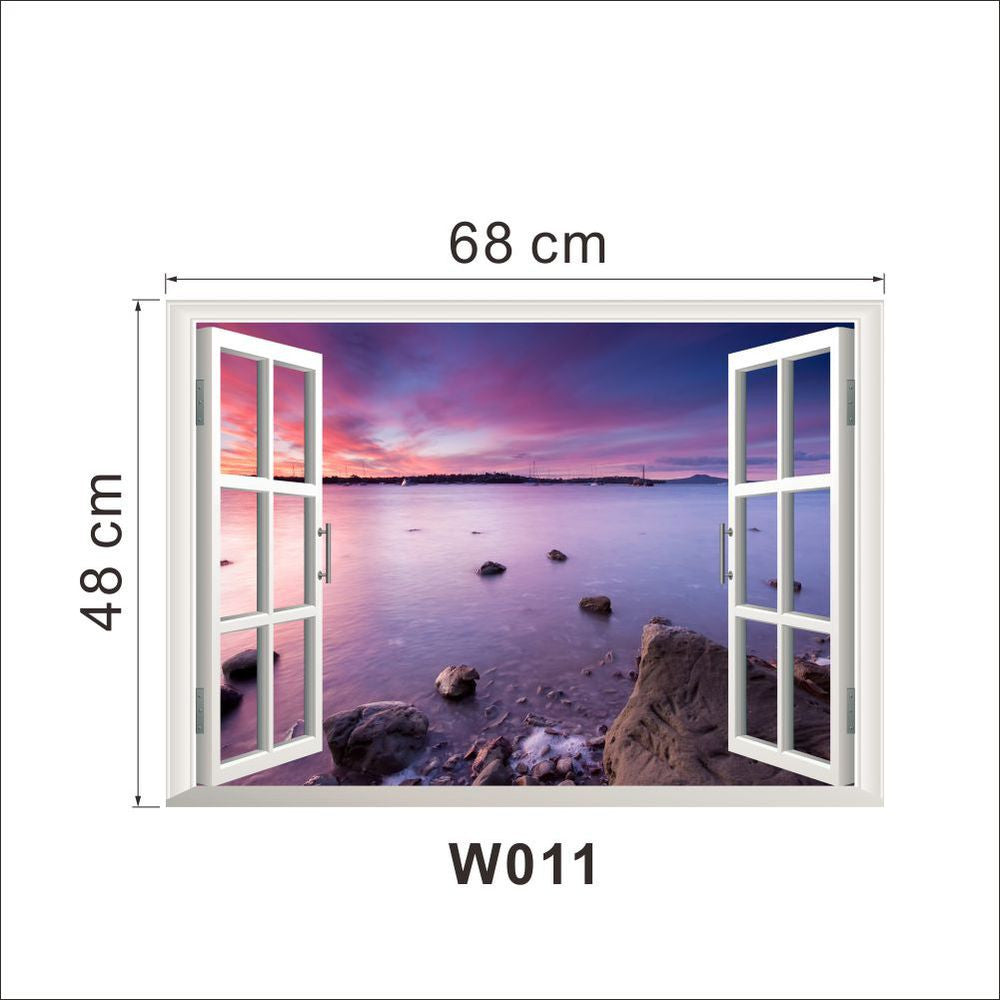 Hot Selling 3D Window Decal Wall Sticker