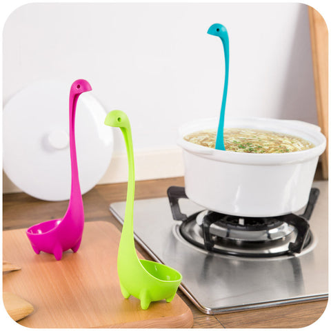1pc Nessie Spoon, Creative Cute Dinosaur Spoon